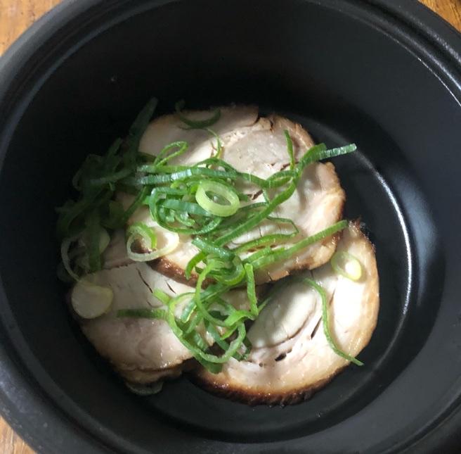 豚そば鶏つけそば専門店上海麺館 トッピングチャーシュー 豚バラ3枚 テイクアウト