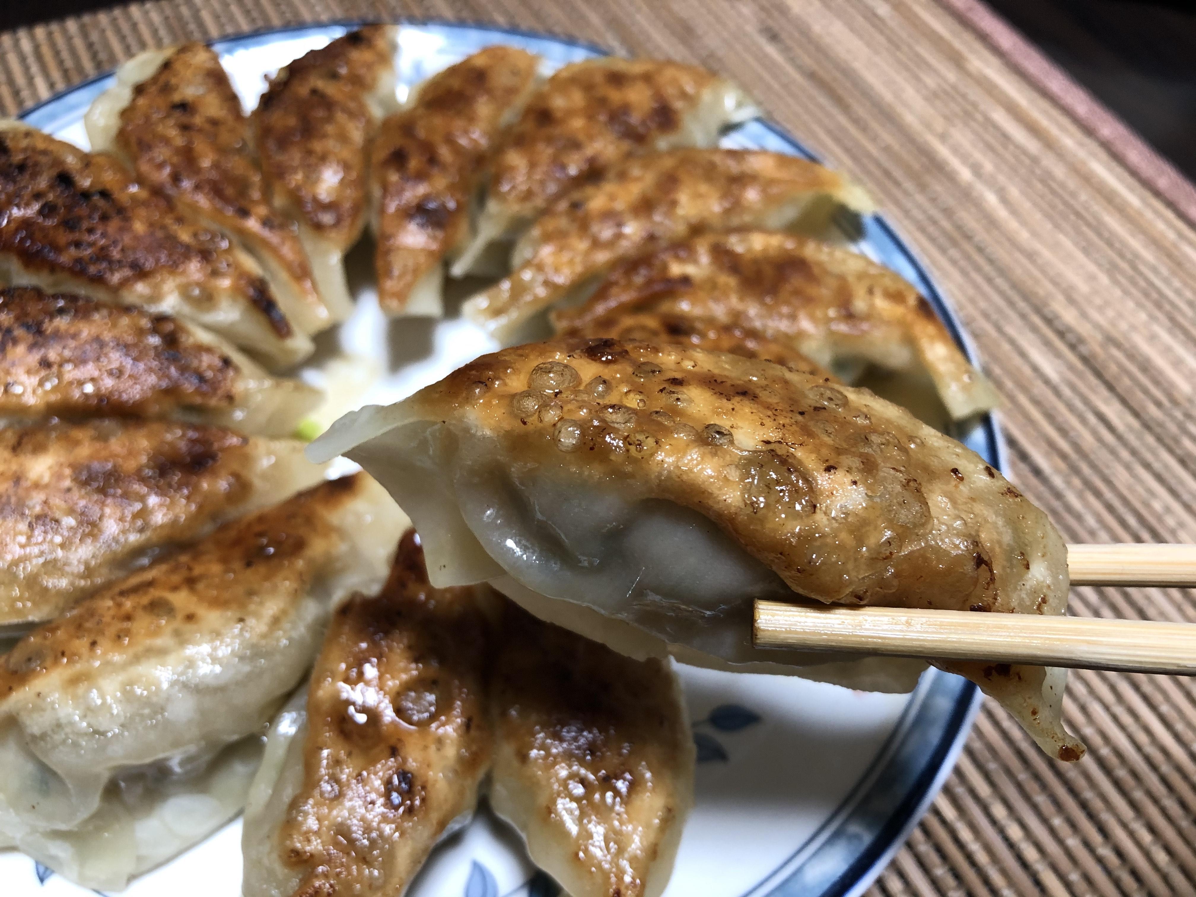 大成食品謹製餃子の皮 調理例