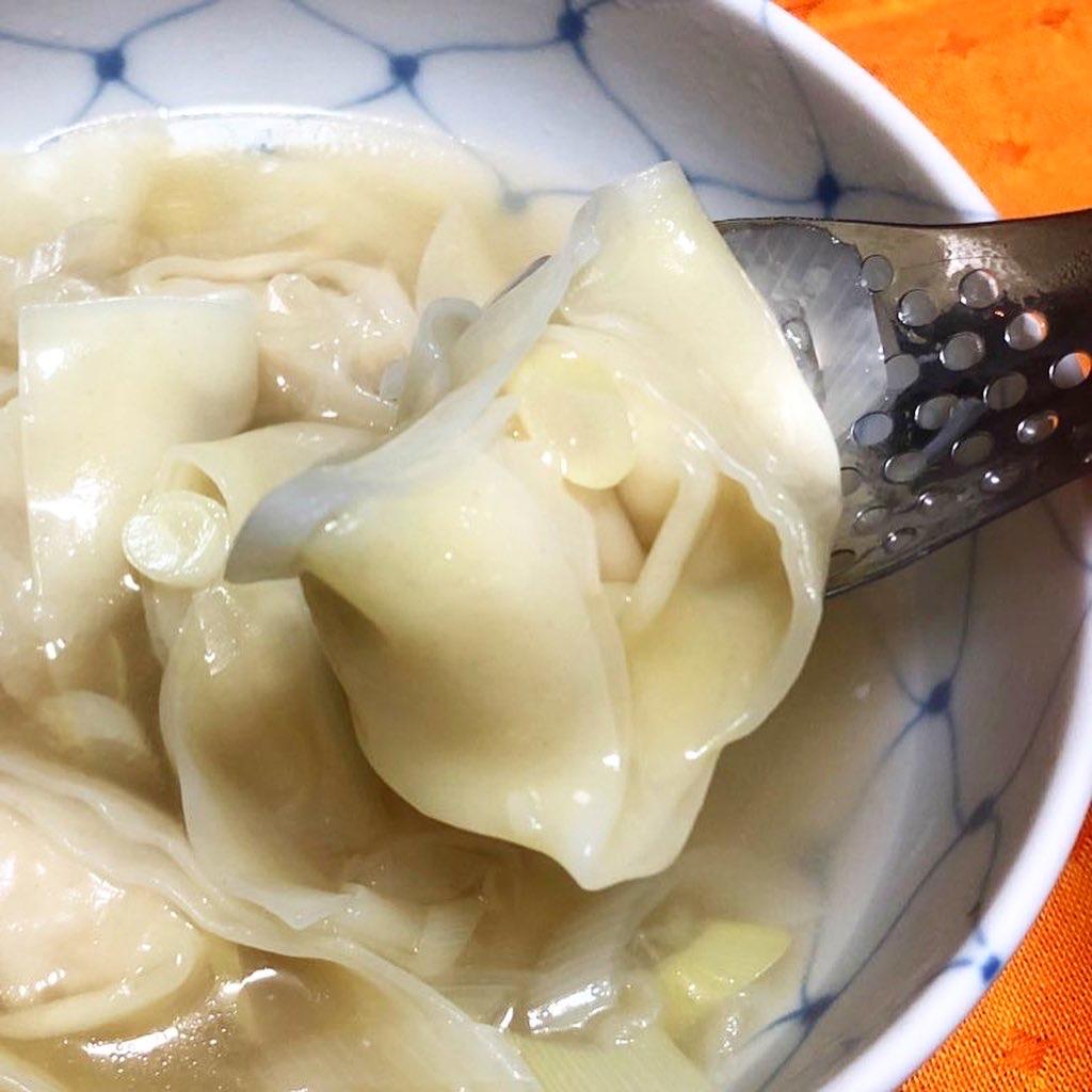 八幡製麺所謹製 上海雲呑 調理例
