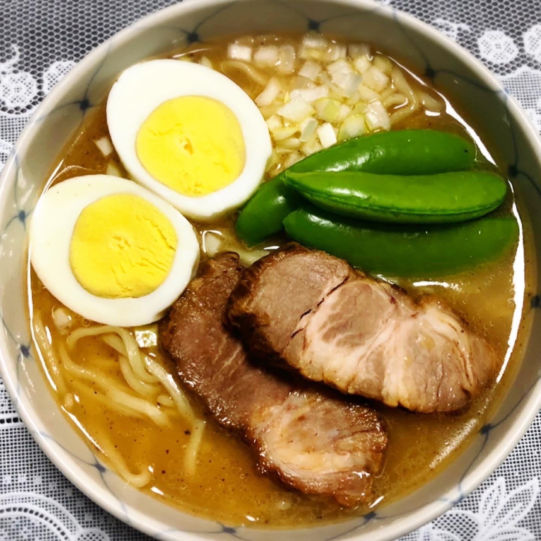 大成食品開発 濃厚醤油あご出汁スープ使用 お家らーめん調理例