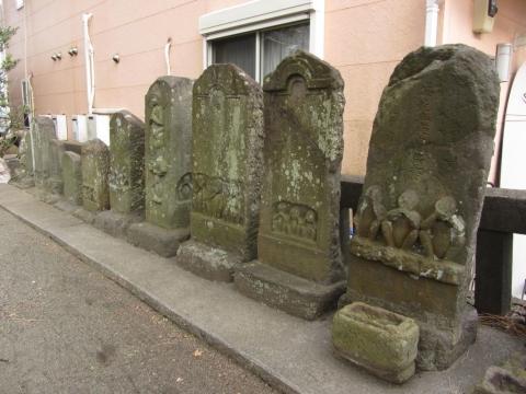 日枝神社石仏群