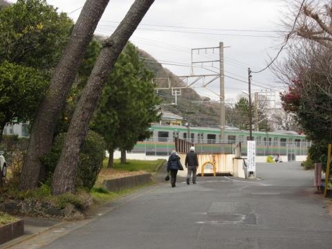 旧東海道 江戸見附跡付近