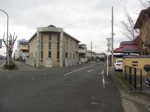 平塚宿京方(上方)見附跡