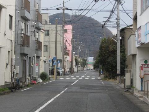 平塚宿と高麗山