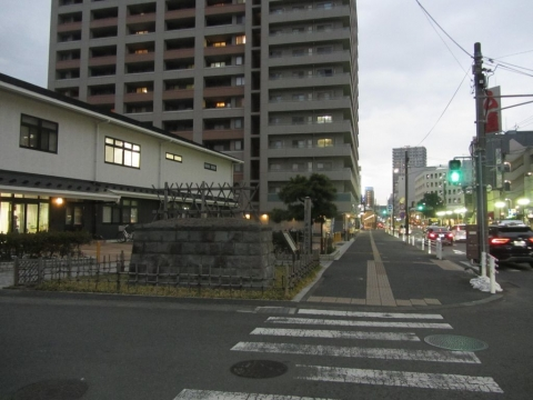 平塚宿江戸見附跡