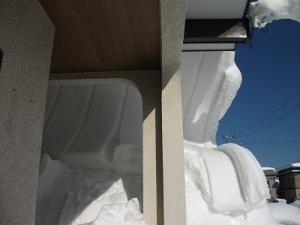 210112屋根雪