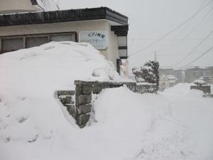 210203屋根雪