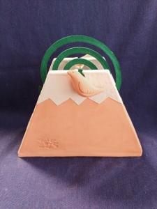 蚊やり富士山