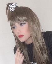 中野たむの髪型を真似たジュリア