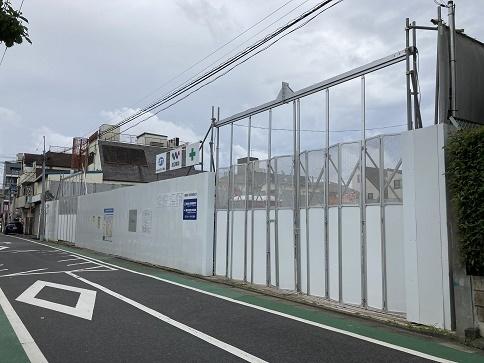 長崎仮囲い
