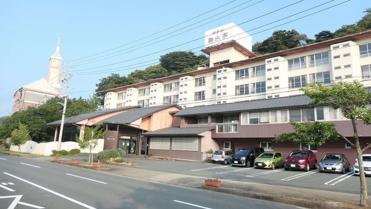 ホテル鞠水亭 施設・部屋編 (2020年8月)