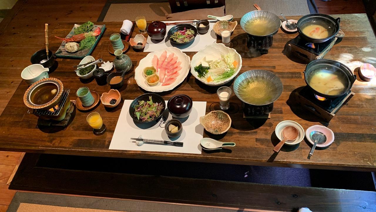 絶景の離れの宿 月のうさぎ 朝食・感想編 (2020年8月)