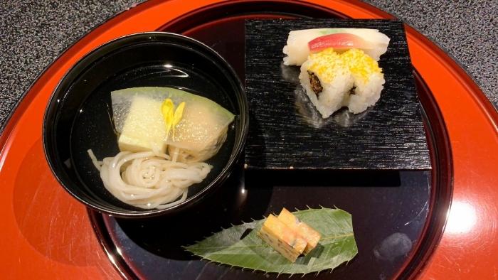 山水館食事 (3)