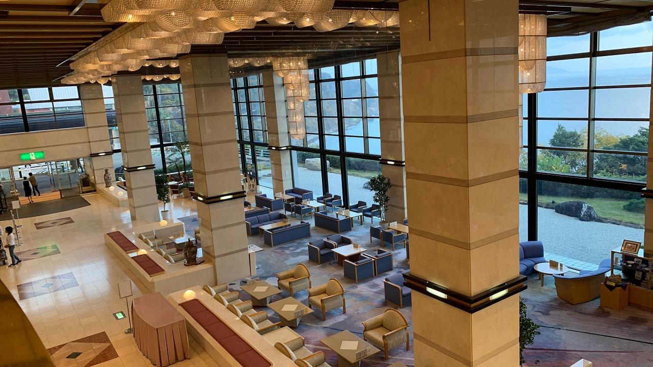 ホテルアンビア松風閣 施設編 (2020年11月)