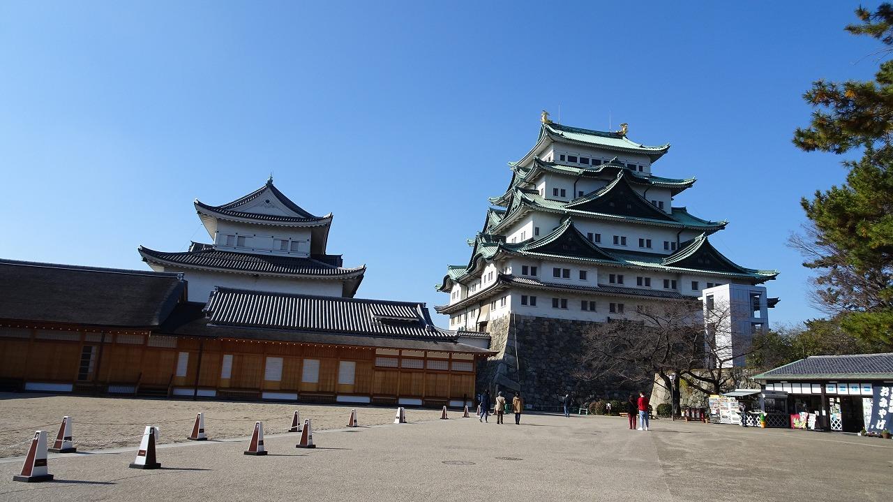 名古屋城見学 (2020年12月)