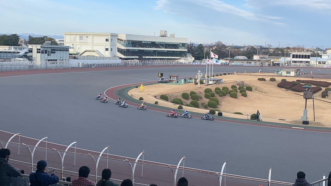30年振りのオートレースデート (2021年2月)