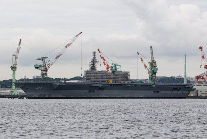 EbUVaRIUMAA5nQI.jpg,イギリス空母クィーンエリザベス,日本空母,いずも型多目的護衛艦,韓国空母,大型輸送艦II,中国空母,002型山東, 海戦,戦艦,護衛艦,乗り物,乗り物のニュース,乗り物の話題