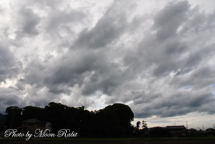 雲の表情 愛媛県西条市禎瑞下