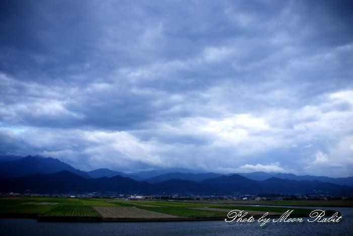 9月の雲 愛媛県西条市禎瑞下