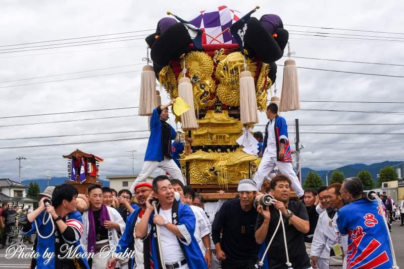 新喜多台旭子供太鼓台 パルティ・フジ東予店かきくらべ 保内八幡神社祭礼