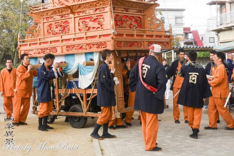 百軒巷屋台(だんじり) 祭り装束