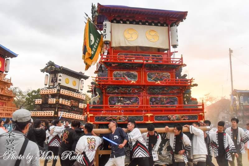 朝日町だんじり(屋台) 本殿祭