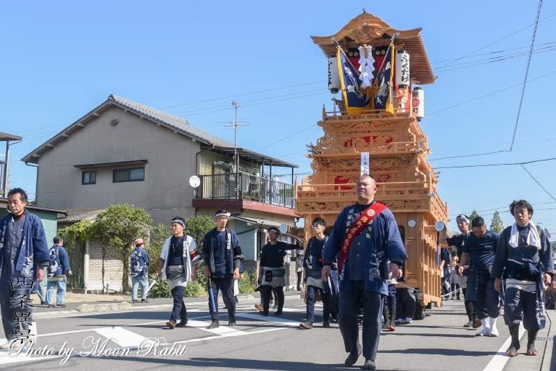 錦町だんじり(屋台) 統一運行