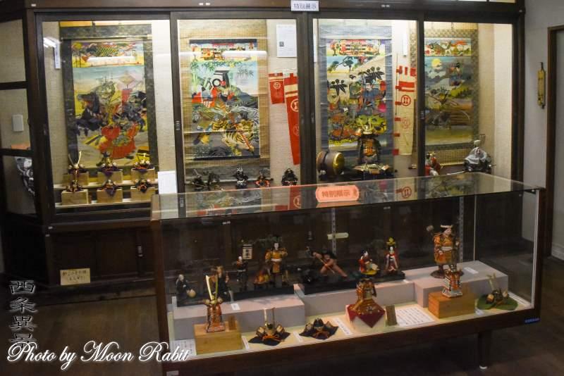 五月人形展 西条郷土博物館 愛媛県西条市明屋敷