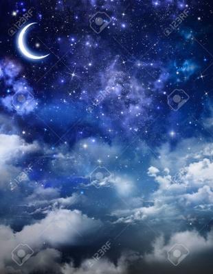 30561348-抽象的な美しい背景、夜空