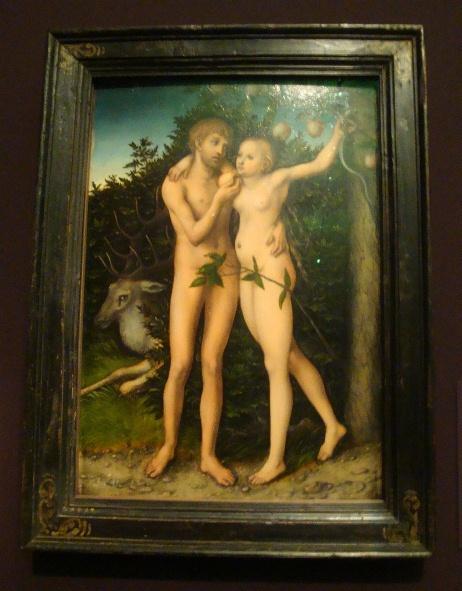 クラナッハのアダムとイブ