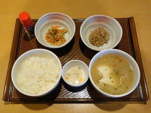 根菜具だくさん味噌汁定食