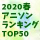 2020春ランキングミニ