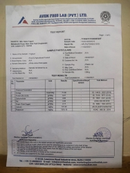Caspian sea Yogurt Nutritional Value Test Result